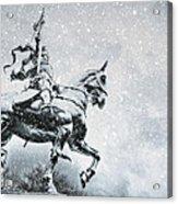 Snow On Joan Acrylic Print