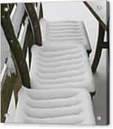 Snow Seat Acrylic Print