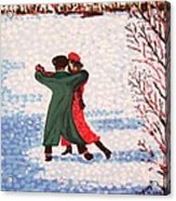 Snow Tango Acrylic Print