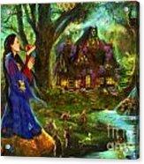 Snow White Acrylic Print