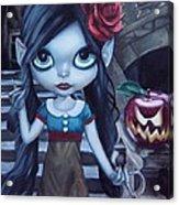 Snow White Acrylic Print by Lori Keilwitz