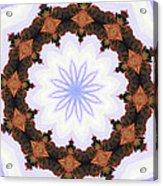 Snow Wreath Acrylic Print