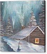 Snowbound Holiday Acrylic Print