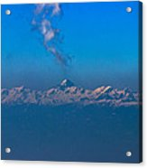 Snowcanic Ash Cloud  Acrylic Print