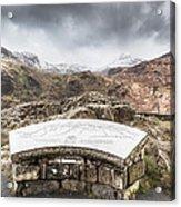 Snowdonia Viewpoint 2 Acrylic Print