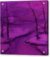 Snowed In IIII Acrylic Print