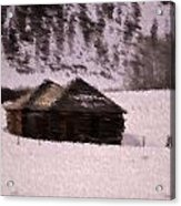 Snowed In Acrylic Print by Kevin Bone