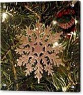 Snowflake Ornament Acrylic Print