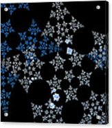 Snowflakes By Jammer Acrylic Print