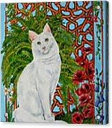 Snowi's Garden Acrylic Print