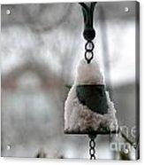 Snowy Bell Acrylic Print