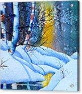 Snowy Forest Acrylic Print