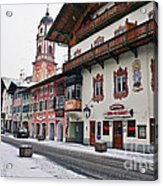 Snowy Good Friday Acrylic Print