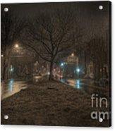 Snowy Nights Acrylic Print