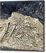 Snowy Sandia Mountain Range Huge Panorama 1150 Acrylic Print