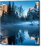 Snowy Yosemite Acrylic Print
