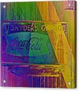 Snyders Garage Acrylic Print