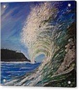 So Cal Wave Acrylic Print