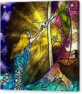 Off To Neverland Acrylic Print