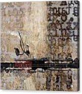 So Linear Acrylic Print by Carol Leigh