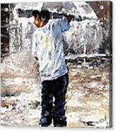 Soaked Acrylic Print by Emerico Imre Toth
