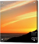 Socal Coastal Sunset Acrylic Print