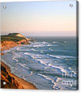 Socal Coastline Sunset Acrylic Print