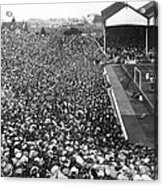 Soccer Crowd At Highbury Acrylic Print