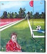 Soccer Field Acrylic Print