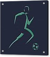 Soccer Player1 Acrylic Print