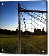 Soccer Sunset Acrylic Print