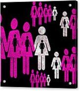 Social Responsibility 1 Part 2 Acrylic Print