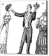 Society Hypnotist, 1900 Acrylic Print