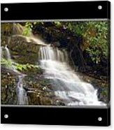 Soco Falls Small Cascade North Carolina Acrylic Print