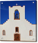 Socorro Mission La Purisima Texas Acrylic Print