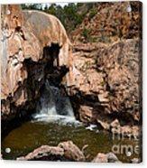 Soda Dam In New Mexico Acrylic Print
