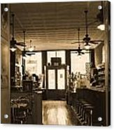 Soda Fountain And General Store Acrylic Print