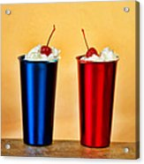 Soda Fountain Joy Acrylic Print