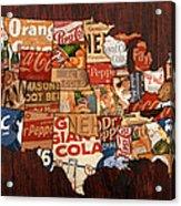 Soda Pop America Acrylic Print