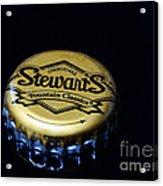 Soda - Stewarts Root Beer Acrylic Print by Paul Ward
