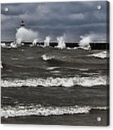 Sodus Waves Acrylic Print