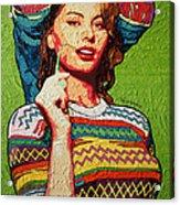 Sofia Loren Acrylic Print