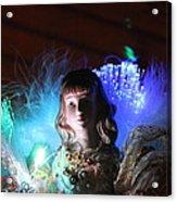 Soft Angel Watching  Acrylic Print by Edward Hamilton