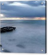 Soft Blue And Wide Acrylic Print