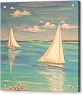Soft Breeze Acrylic Print by The Beach  Dreamer