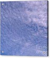 Soft Clouds Blue Sky Acrylic Print