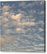 Soft Clouds Acrylic Print