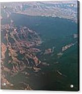 Soft Early Morning Light Over The Grand Canyon Acrylic Print