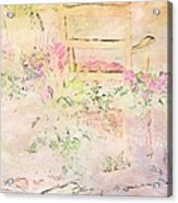 Soft Floral Pastels Acrylic Print