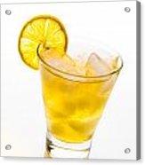Soft Lemon Cocktail Acrylic Print